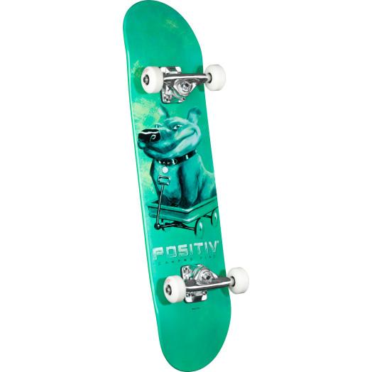 Positiv Sandro Dias Pitbull Complete Skateboard - 7.5 x 31.375