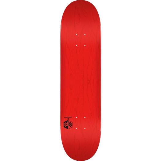 """MINI LOGO DETONATOR """"15"""" SKATEBOARD DECK 255 K20 RED - 7.5 X 30.70"""
