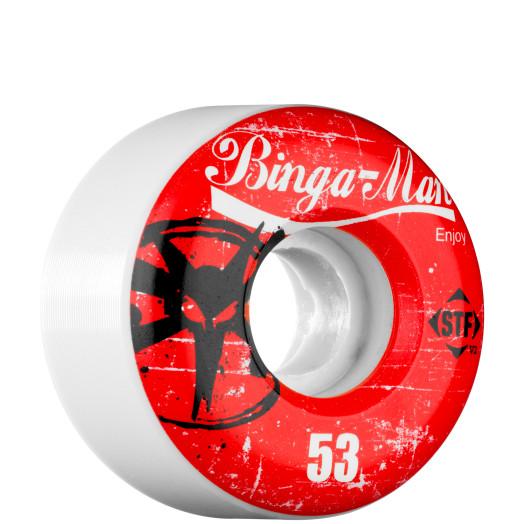 BONES WHEELS STF Pro Bingaman Enjoy 53mm (4 pack)