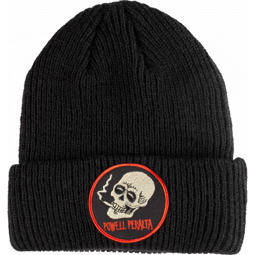 Powell Peralta Smoking Skull Beanie - Black