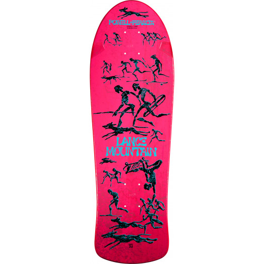 Bones Brigade® Lance Mountain Future Primitive Reissue Skateboard Deck Pink - 10 x 30.75