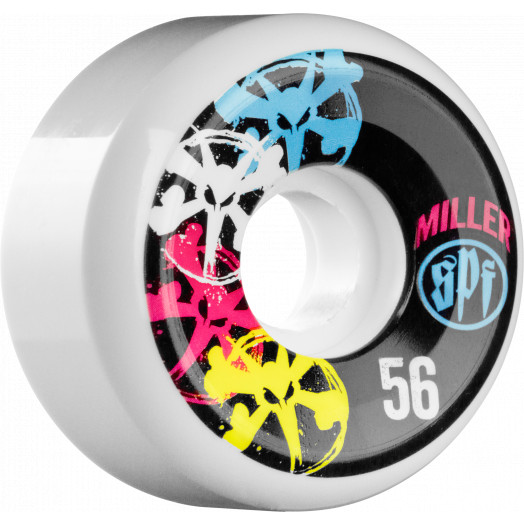 BONES WHEELS SPF Pro Miller CMYK 56mm 4pk