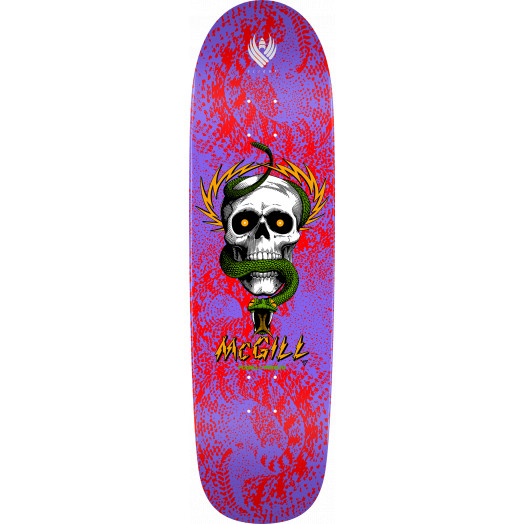 Powell Peralta Pro McGill Skull and Snake 02 Flight® Skateboard Deck - 9.01 x 32.45