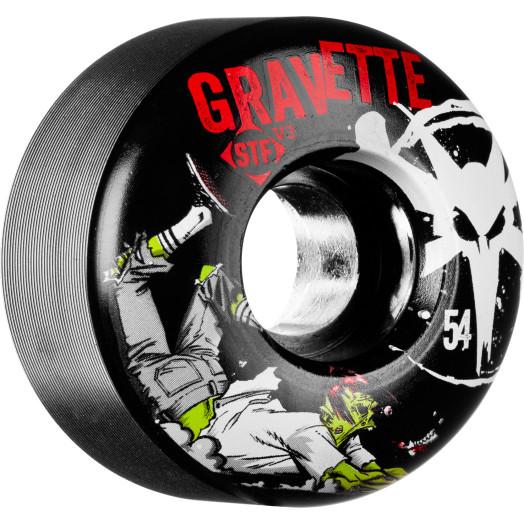 BONES WHEELS STF Pro Gravette Zombie 54mm 4pk