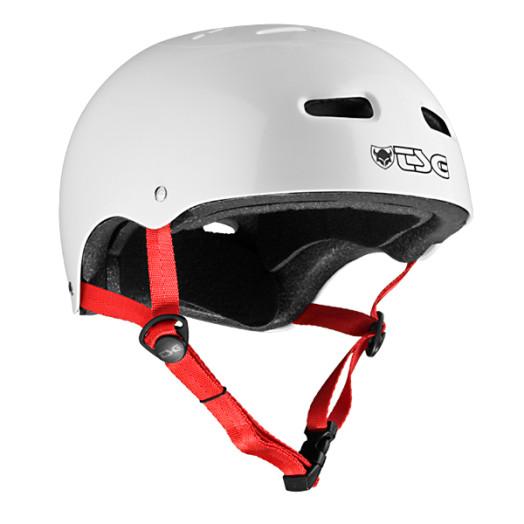 TSG SK8 Helmet - Pearl White