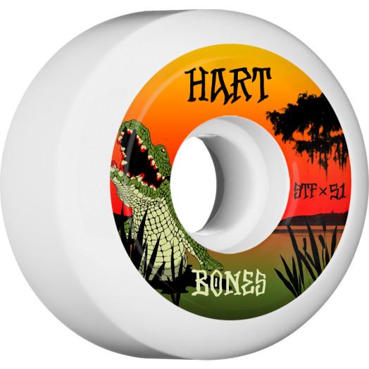 BONES WHEELS STF Pro Hart Gator Bait Skateboard Wheel V5 51mm 103A 4pk