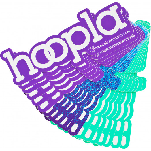 hoopla 2 sticker 20pk