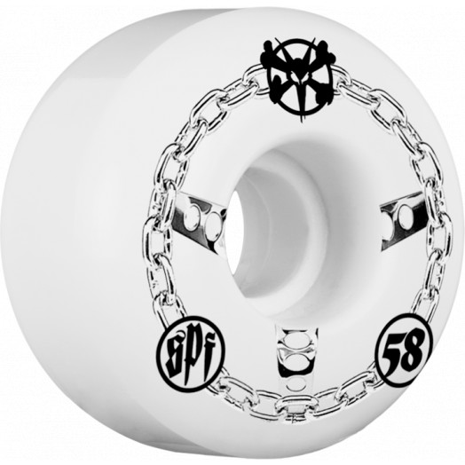 BONES WHEELS SPF Chained 58mm wheels 4pk