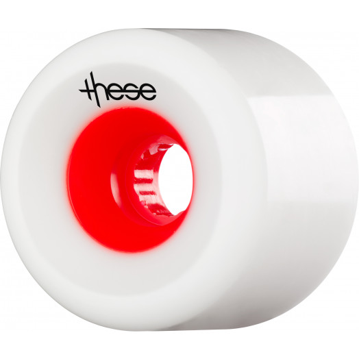 these wheels Free Ride Offset FRF 727 70mm 78a Red Hub (4 pack)