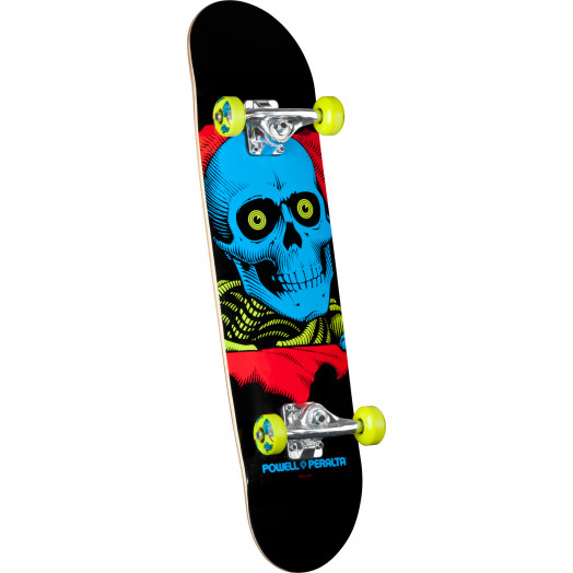 Powell Peralta Blacklight Ripper Green Complete Skateboard - 8 x 32.125
