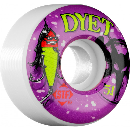 BONES WHEELS STF Pro Dyet Allure 51mm (4 pack)
