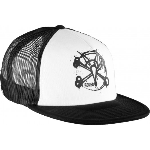 BONES WHEELS Circle Rat Trucker Cap
