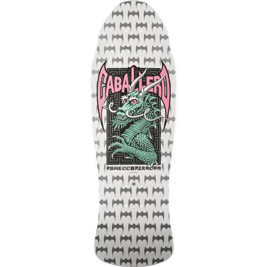 Powell Peralta Steve Caballero Street Skateboard Deck White - 9.625 x 29.75