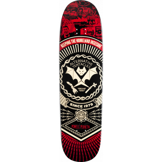 Powell Peralta Guest Artist Winston Smith Deck - 8.4 x 31.5