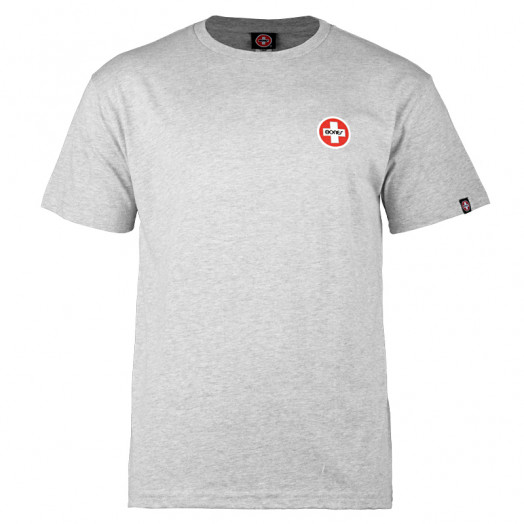 Bones® Bearings Small Swiss Logo T-Shirt - Gray