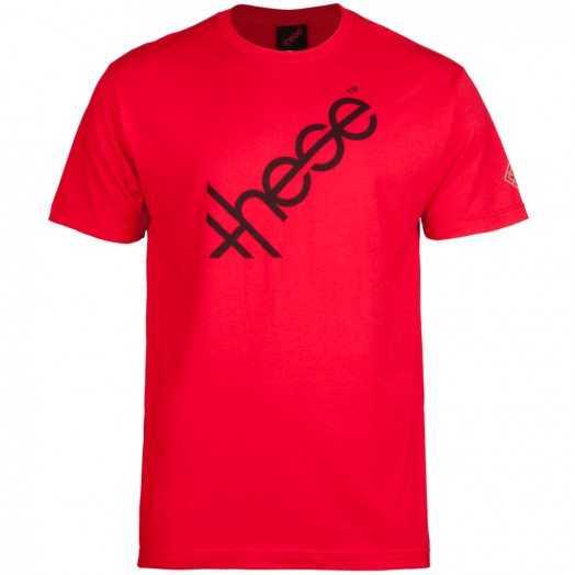 these wheels Logo T-shirt - Red