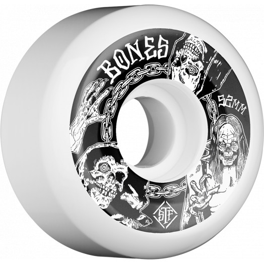 BONES WHEELS STF Terror Nacht Skateboard Wheels V5 52mm 103A 4pk