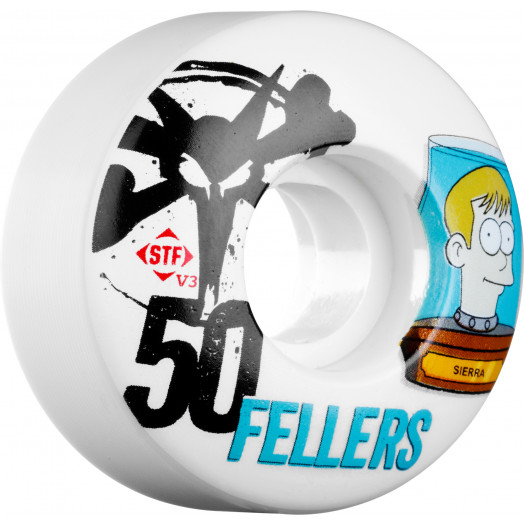 BONES WHEELS STF Pro Fellers Header 50mm 4pk