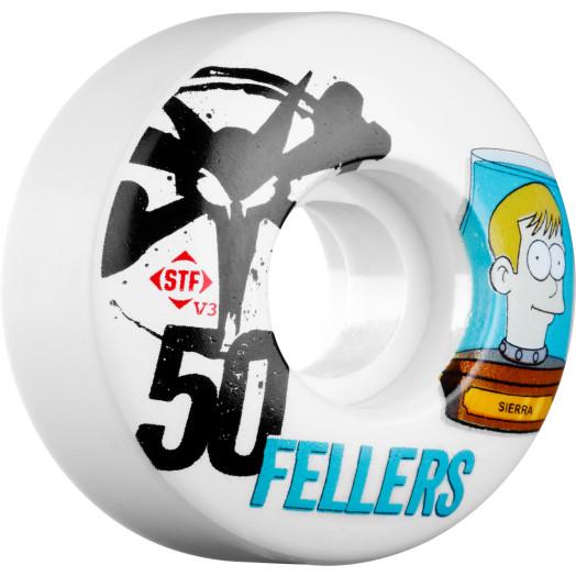 BONES WHEELS STF Pro Fellers Header 50mm 4pk