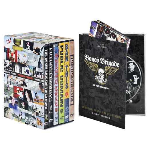 BONES BRIGADE: An Autobiography Blu-Ray/DVD + Bones Brigade DVDs 1-6 Combo
