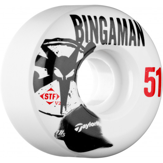 BONES WHEELS STF Pro Bingaman Handycap 51mm 4pk
