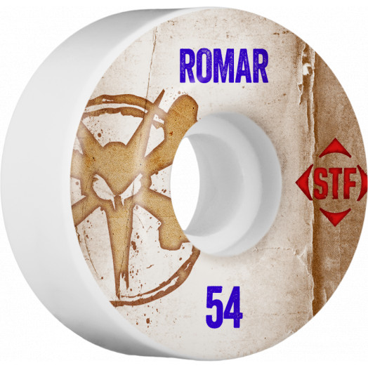 BONES WHEELS STF Pro Romar Team Vintage Wheel 54mm 4pk