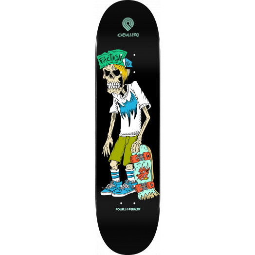 Powell Peralta Steve Caballero Faction Skateboard Deck - Shape 243 - 8.25 x 31.95