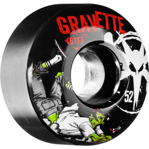 BONES WHEELS STF Pro Gravette Zombie 52mm 4pk