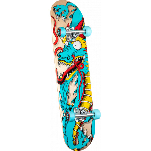 Powell Golden Dragon Cab Art Dragon 2 Complete Skateboard - 8 x 32.125
