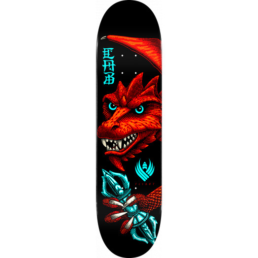 Powell Peralta Pro Steve Caballero Dragon Wing Flight® Skateboard Deck Shape 243 -  8.25x 31.95