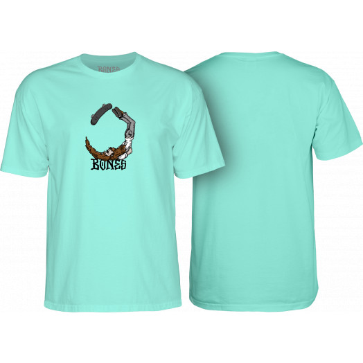 BONES WHEELS T-shirt Scorpion Mint