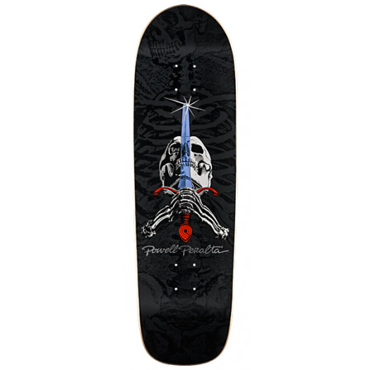 Powell Peralta Skull & Sword Deck - 9.5 x 32.75