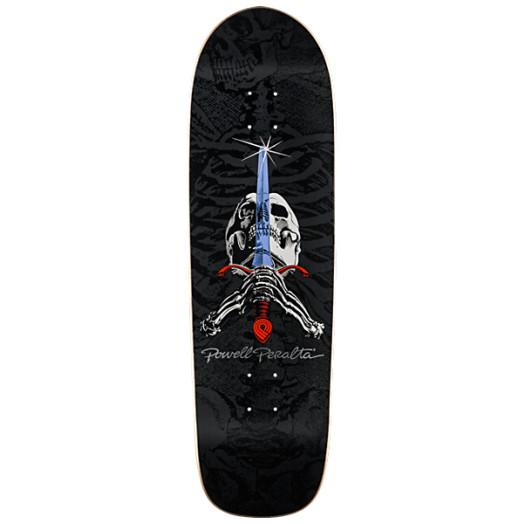 Powell Peralta Skull & Sword Skateboard Deck - 9.5 x 32.75