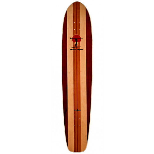 Surf One Robert August II Skateboard Deck - 8.875 x 43.875