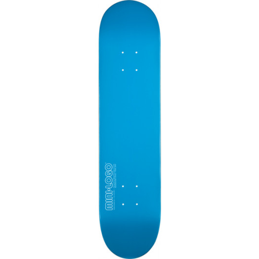 Mini Logo 126 K12 Skateboard Deck Blue - 7.625 x 31.625