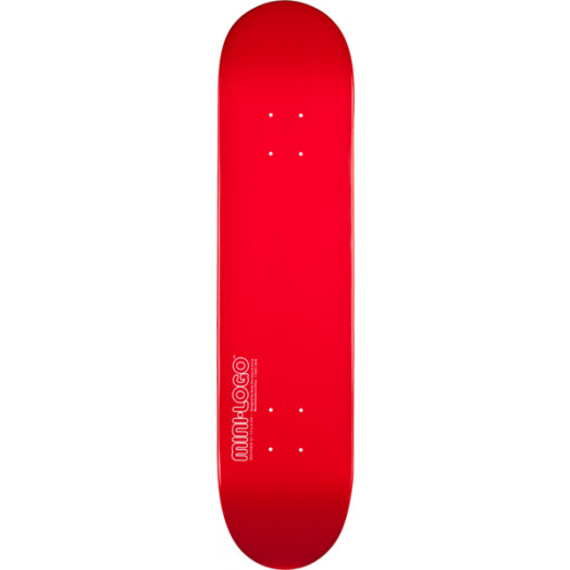 Mini Logo 126 K12 Skateboard Deck Red - 7.625 x 31.625