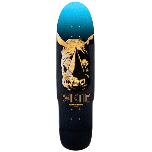 Powell Peralta Pro Chad Bartie Fun Shape Skateboard Deck - 8.5 x 32.875