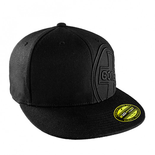 Bones® Bearings 3D Swiss Circle Fitted Cap - Black