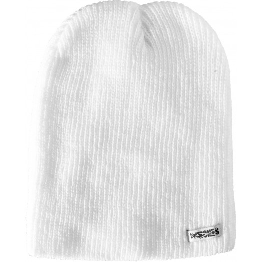 BONES WHEELS Basic Beanie - White