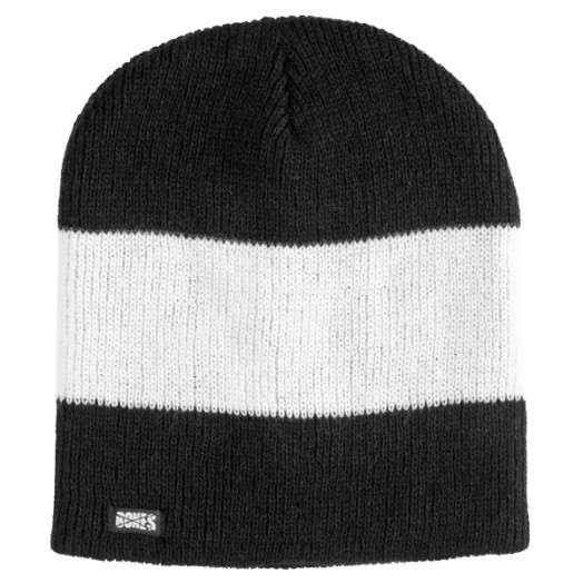 BONES WHEELS Wyatt Beanie - Black/White