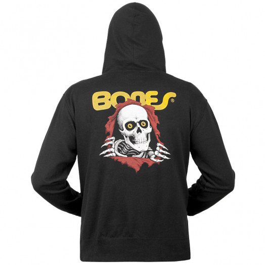 Powell Peralta Ripper Hooded Zip - Black