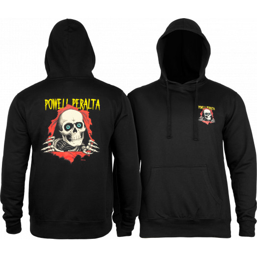 Powell Peralta Classic Ripper Lightweight Hooded Sweatshirt Black