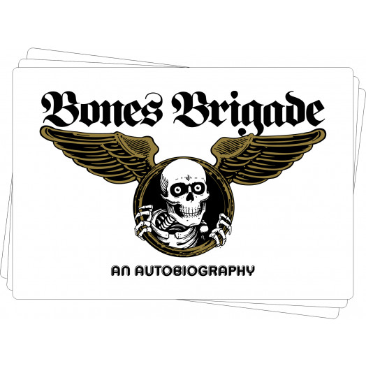 BONES BRIGADE: An Autobiography Sticker (20 pack)