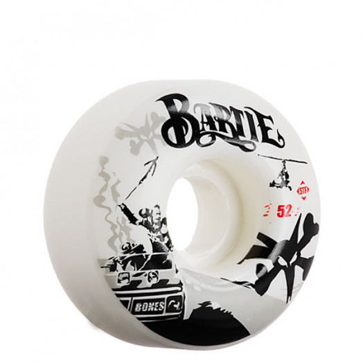 BONES WHEELS Chad Bartie 52mm Street Tech Formula (4-pack)