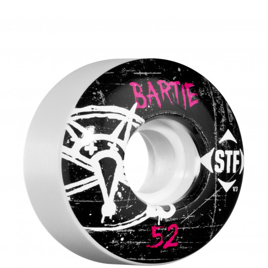 BONES WHEELS STF Pro Bartie Oh Gee 52mm (4 pack)