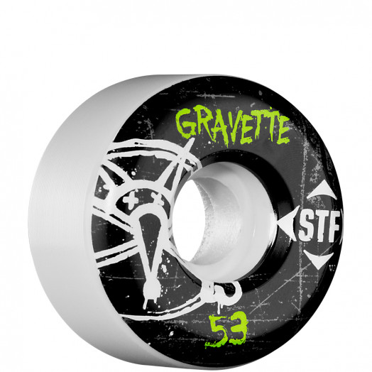 BONES WHEELS STF Pro Gravette Oh Gee 53mm (4 pack)