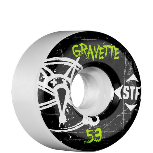BONES WHEELS STF Pro Gravette Oh Gee 53mm (4 pack)