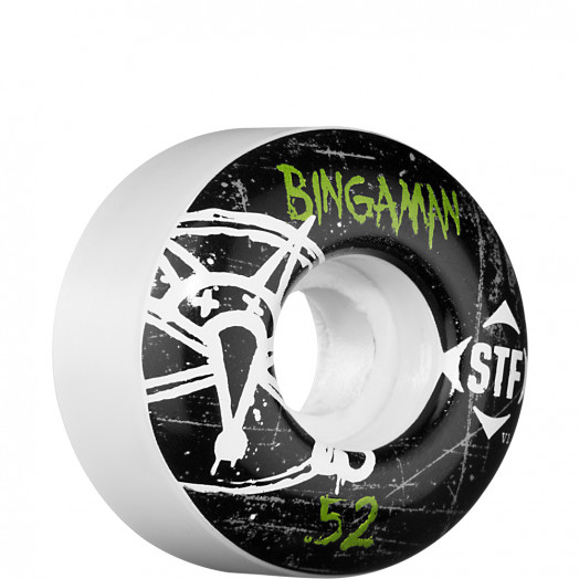 BONES WHEELS STF Pro Bingaman Oh Gee 52mm (4 pack)