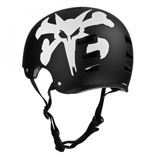 TSG BONES WHEELS Evolution Rat Logo Helmet
