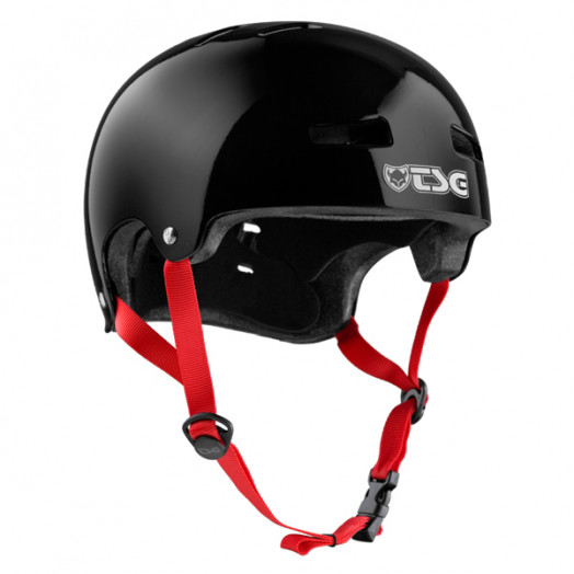 TSG Evolution Jr. Helmet - Glossy Black